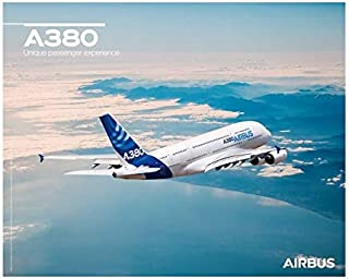 【Airbus A380 Flight View Poster】 エアバス 飛行機 ポスター