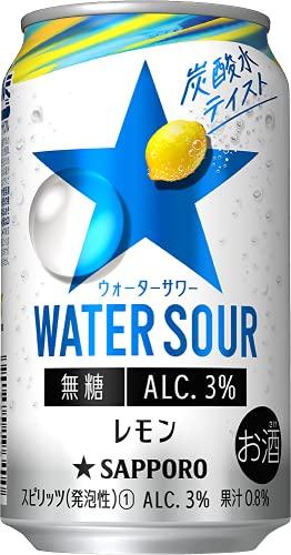 サッポロ WATER SOUR レモン 〔チューハイ 350ml×24本〕
