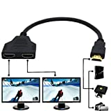 1080P HDMI Male to Dual HDMI Female 1 to 2 Way...