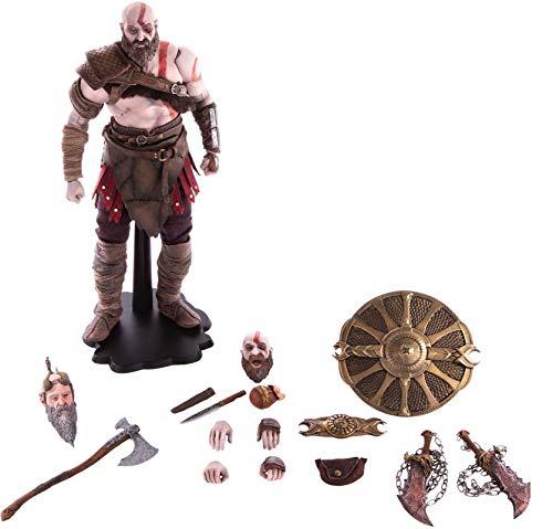 Mondo Tees God of War: Kratos 1: 6 Scale Deluxe Collectible Figure, Multicolor