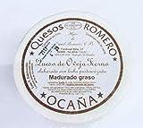 QUESO ROMERO OCAÑA TIERNO QUESO ROMERO OCAÑA TIERNO 100% de leche pasteurizada de oveja con un color de corteza blanco y un sabor suave, ligero y agradabe.