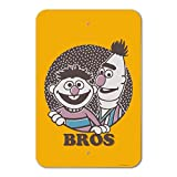 GRAPHICS & MORE Sesame Street Bert and Ernie Bros Home Business Office Sign