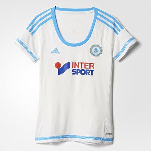 adidas - Camiseta para Mujer, réplica de Olympique de Marsella, Mujer, Color...