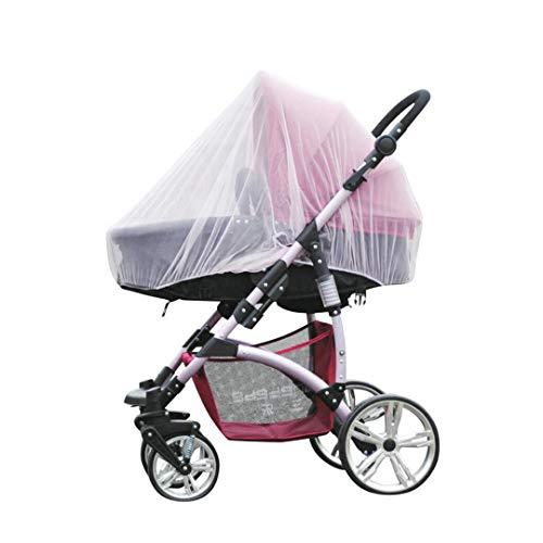 DEBAIJIA Cochecitos de bebé Mosquitero Infantil Universal Asiento de carro Cubierta de protección Insecto Proteger Red Fly Bug Paseante Red Suave Cómodo Respirable para la silla de paseo Cochecito