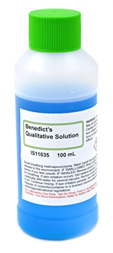 Qualitative Benedict's Solution, 100mL - The Curated Chemical Collection