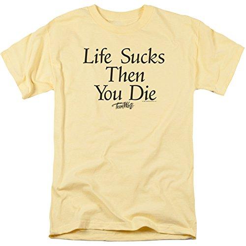 Teen Wolf- Life Sucks Then You Die T-Shirt Size S