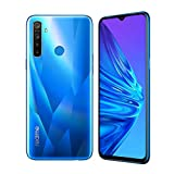 realme 5 Smartphone Cellulari, 4 GB RAM 128 GB ROM 6,5' Snapdragon 665 AIE 12MP AI Quad Camera, Versione Europea (Blu)