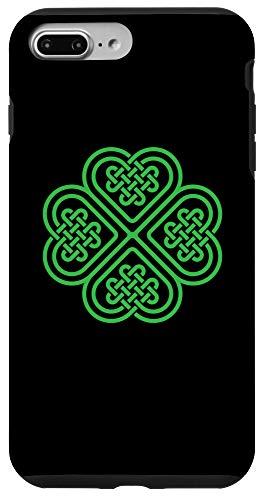 iPhone 7 Plus/8 Plus Shamrock Heart Celtic Knot Irish St. Patricks Day Case