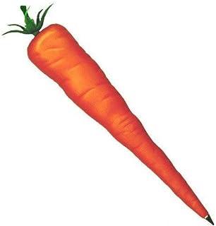 ALPI Carrot Pen | Plastic Carrot Shaped Ballpoint Black Ink Pen (1-Count) | Funny Novelty Vegetable Pen for Office, School...