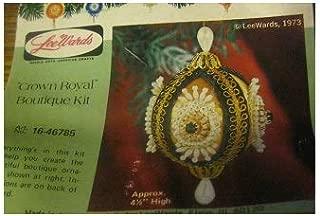 Vintage Lee Wards Crown Royal Beaded Ornament Kit