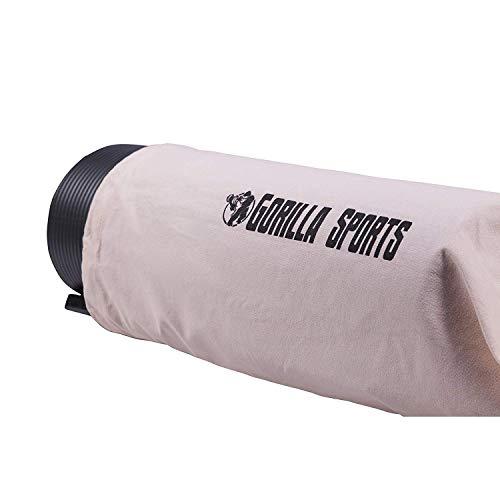 GORILLA SPORTS® Yogatasche mit Tragegurt Rosa – Matten-Bag aus Baumwolle 190 x 100 cm