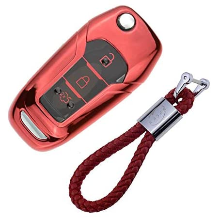 Kaser Autoschlüssel Hülle Für Ford Cover Tpu Silikon Elektronik