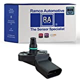 Ramco Automotive, Turbocharger Boost Sensor, Compatible with Wells SU13130, Standard Motor Products AS366 AS377 (RA-MS1027)