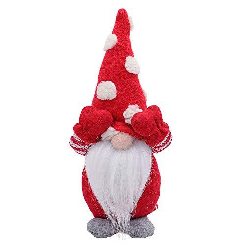 MRULIC Ostern Weihnachten Deko Wichtel Weihnachtsmann Festliche Geschenke FüR Kinder Familie Ostern Weihnachten Tischdekoration Basteln Deko Weihnachtliche Wichtel Deko(A3)