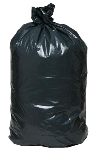 AEP 0232362 XX Heavy Duty Can Liner, 33 Gallon, 1.4 ml, Black (Pack of 100)