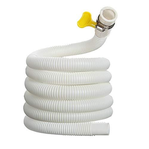 YPASDJH 1M Plástico Aire Acondicionado Drenaje Manguera Universal Agua Entrada Extensión Tubería Lavadora Faucet Baño Cocina Accesorios para lavavajillas, Lavadora (Color : A)