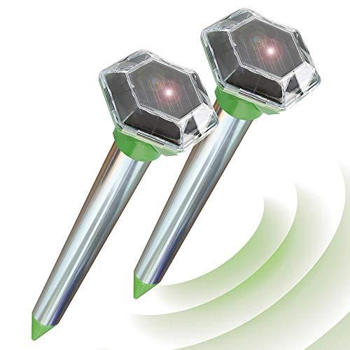 Ahuyentador de topos por ultrasonidos ISOTRONIC