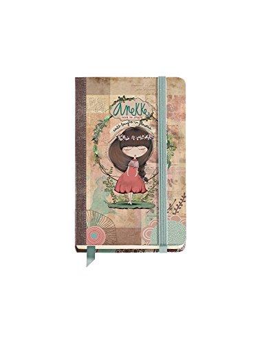 Anekke cuaderno liso (9x14 cm) nature.
