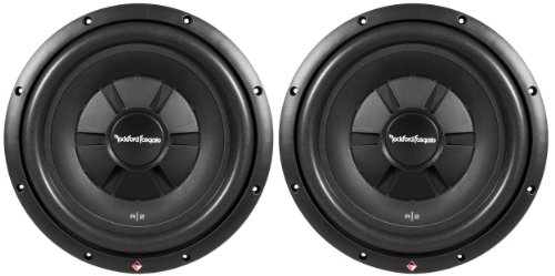 """Rockford Fosgate 2 R2SD2-12 12"""" R2 1000W Shallow DVC Subwoofers Subs"""