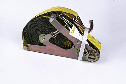 1,000lbs WLL 3,000 Break Strength Keeper 45545 12 Industrial C-Grip Ratchet Tie-Down