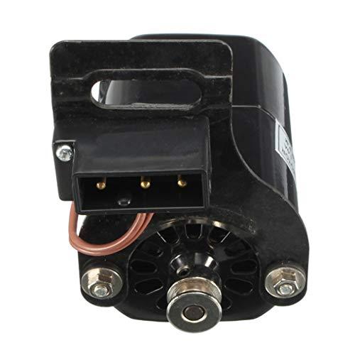 Uokoki Controlador de Pedal 1.0 amperios 110V 100W de Aluminio Universal para máquinas de Coser Motor Pie