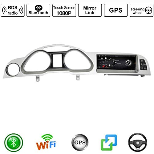 Android Car Stereo Radio Double DIN Sat Nav para Audi A6 200