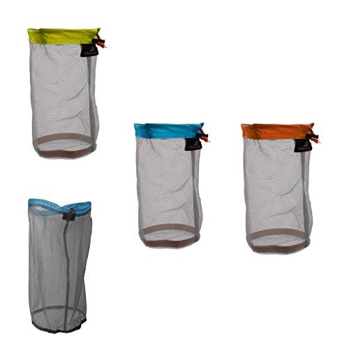 Sharplace Set DE 4 Pcs Sac en Mailles Ultra Légères pour Sport Voyage Randonnée Camping Pêche