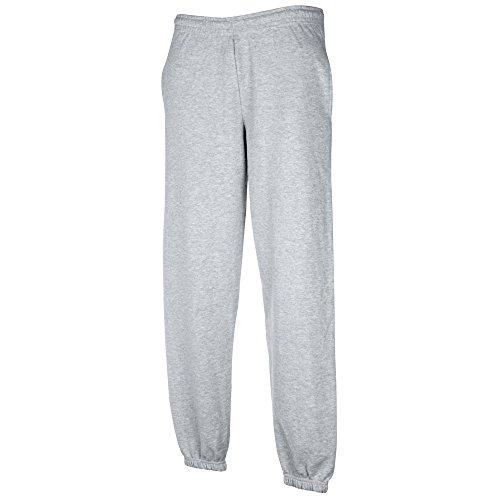 Pantalon De Jogging/100% Loisirs avec Élastique Y compris les états financiers - Homme, Gris Chiné, M