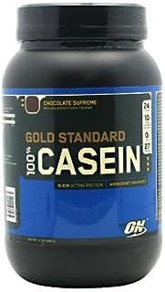 Optimum Nutrition 100%ゴールドスタンダード カゼインプロテイン 908g (Gold Standard 100% Casein 2 lbs) (チョコレートシュープリーム(Chocolate Supreme))