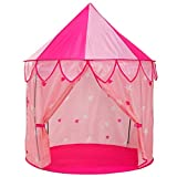YOOBE 5pc Tienda de Princesa para niñas Tienda de campaña Princess Castle - Bonus Princess...