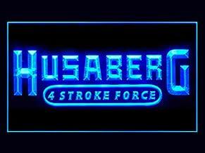 Husaberg Motorcycle Bike Repair Service Led Light Sign