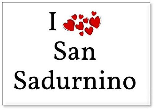 Mundus Souvenirs - Amo San Sadurnino, Imán para Nevera (diseño 3)