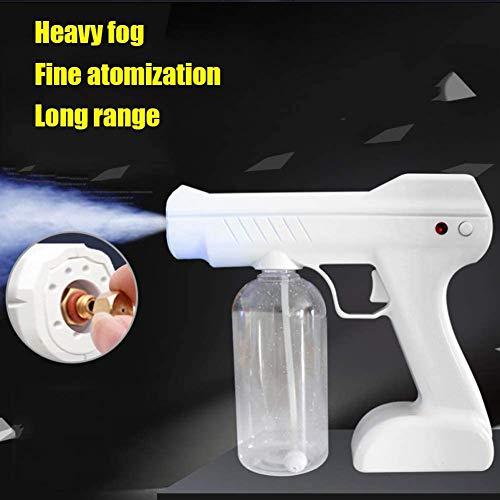 Blaues Licht Nano Steam Gun 800 Ml Desinfektion Nano Steam Gun Beschlagen Wagen Zuhause Rauchnebel Maschine zum Krankenhäuser Wagen Hotel Restaurant