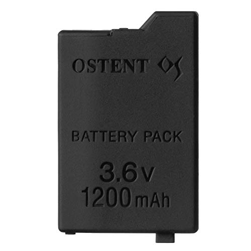 OSTENT Remplacement de la batterie rechargeable au lithium-ion de 1200mAh 3.6V pour la console Sony PSP 2000/3000 PSP-S110