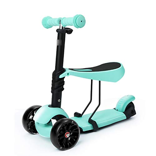 Fantastic Prices! Kick Scooters Children's Scooter 3 Wheel yo car 3-6 Years Old can sit Three-in-one...