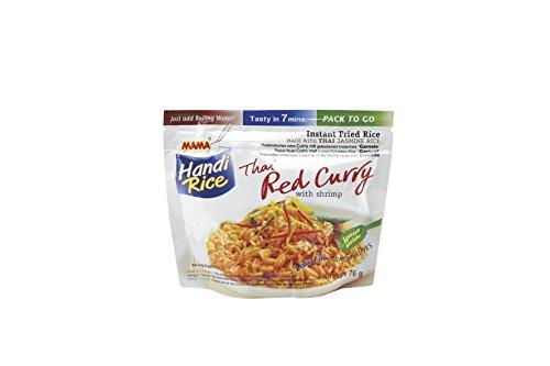 Handi Rice Thai Red Curry with Shrimp - MAMA 80g