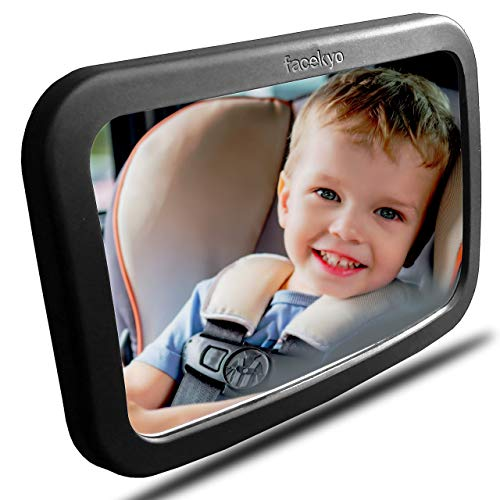 Baby Mirror for Car | Baby Car Mirror | Huge Wide-Angled Without...