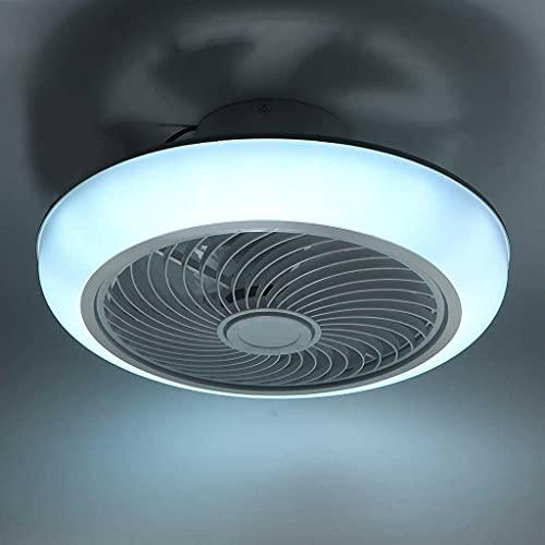 HGW Moderne Deckenventilator mit Licht und Fernbedienung/APP Leise Ventilator LED Deckenventilator mit Deckenleuchte für Schlafzimmer Wohnzimmer Kinderzimmer Esszimmer
