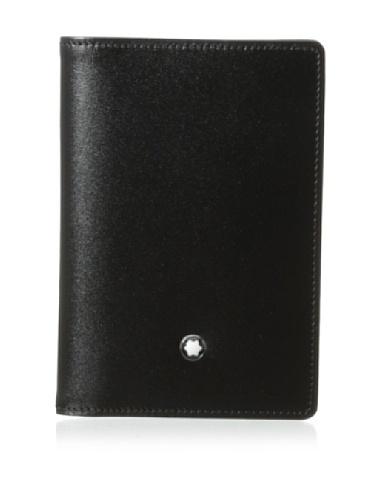 Montblanc Business Card Case - Tarjetero, Negro