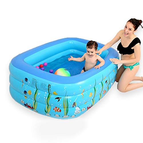 Drop-In Bathtubs Household Adult Bathtub Baby Swimming Pool Children's Large Bath Tub Multi-Functional Insulation Swimming Bucket Full Body Bath Barrel with Lid Best Gift for Family