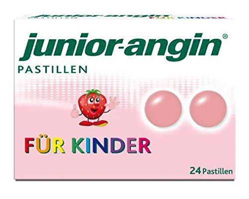 Junior-Angin Lutschpastillen 24 Stück (24 ST)