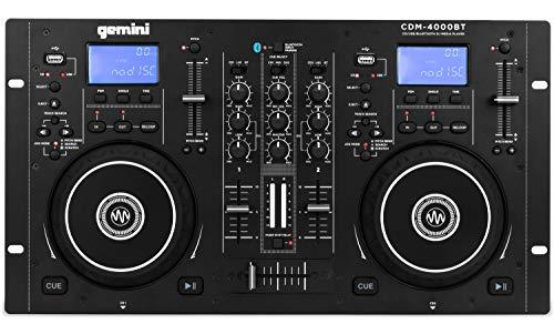 Lettore CD disc jockey Gemini CDM--4000BT