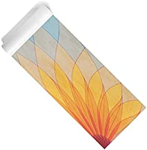 Pravacana Mats Non-Slip ECO Friendly Yoga Mat | Extra Long Non-Toxic, BPA & Phthalate Free | USA Made | Fitness Exercise Workout Mat for Yoga or Pilates | Morning Mum