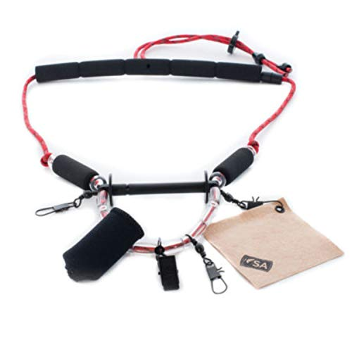 Scientific Anglers Lanyard, Red and Black 129008