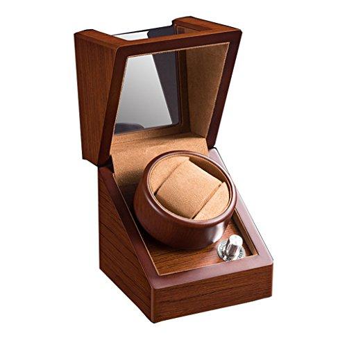 Caja de Reloj - Caja de exhibición del Reloj Shaker Giratorio Mesa...