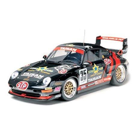 Tamiya 24175 - Maqueta de coche Porsche 911 GT2 'Taisan Starcard' - escala 1/24