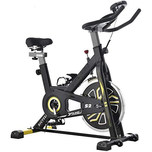 WJFXJQ Spinning Bicycle Super Tranquilo Equipo de Ejercicio Interior Ejercicio Cinta de Correr Ejercicio Bicicleta