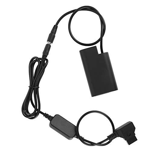 wosume 【𝐂𝐚𝐝𝐞𝐚𝐮】 wosumePile factice Durable pour Appareil Photo numérique, Protection Multiple Pile factice à décodage Complet du Port D-Tap, Noire pour Appareil Photo Reflex numérique