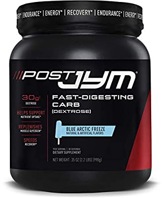 Post JYM Fast-Digesting Carb - Post-Workout Recovery Pure Dextrose