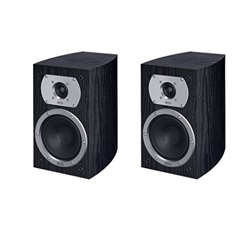 Heco Victa Prime 20265W schwarz Lautsprecher–Lautsprecher (Lautsprecher, XLR, Boden, Oberseite Tisch-/Bücherregal, Reflex, 2,5cm, 12cm)